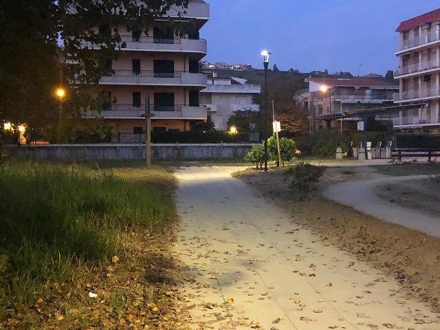 Vasto Marina, pista ciclopedonale: terminati i lavori del secondo lotto dell'illuminazione