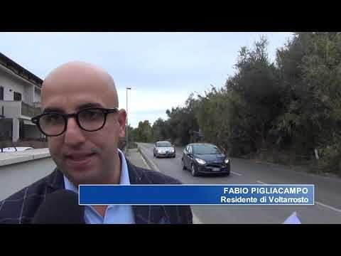 """Roseto, proteste dei residenti di Voltarrosto: """"SS150 invasa da rovi e canne"""". Scatta la petizione NOSTRO SERVIZIO"""