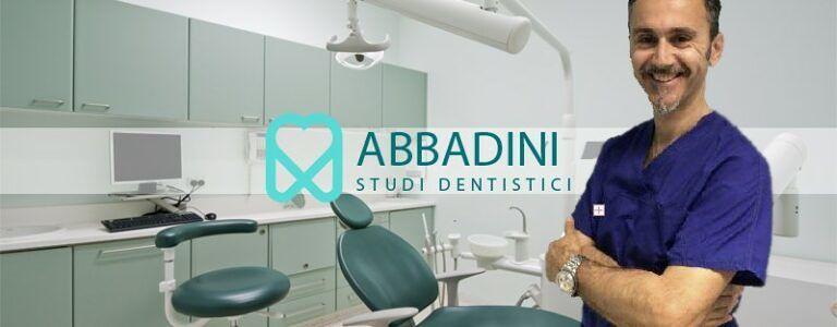 Abbadini studio Odontoiatrico, dal 1991 professionalità e cortesia!