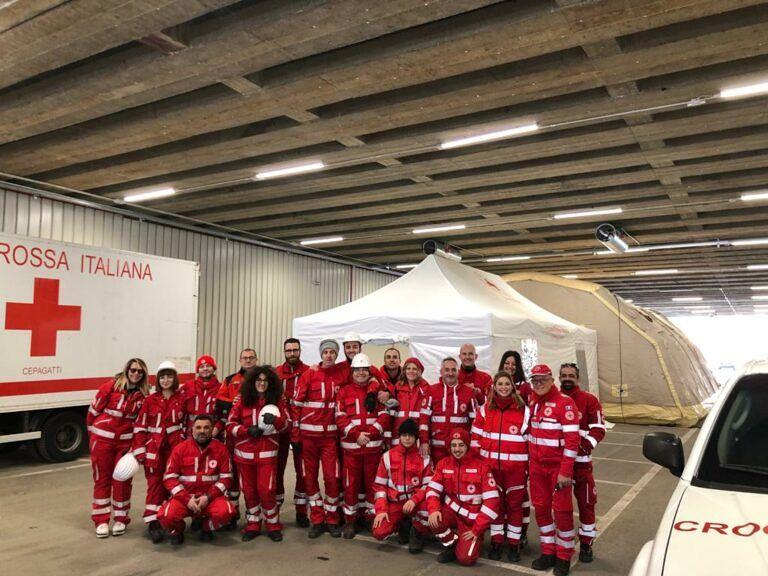 Pescara, simulazione d'emergenza e cena solidale per la Croce Rossa