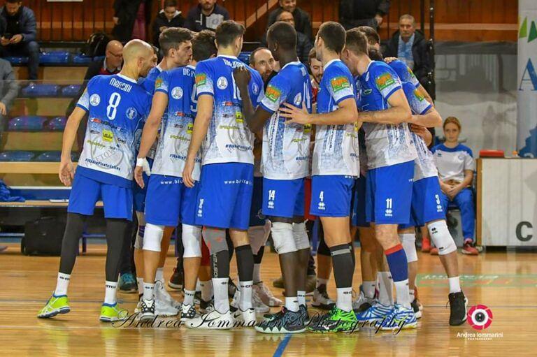 Volley, riposo per la Blueitaly Pineto: 'tempo per riflettere'