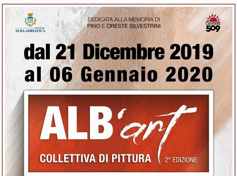 Alba Adriatica, apre i battenti Alb'Art: la collettiva di pittura