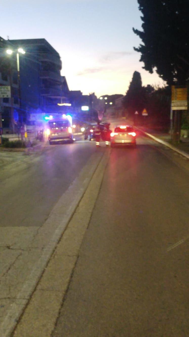 Silvi, tamponamento tra due auto all'incrocio della Esso: ci sono feriti