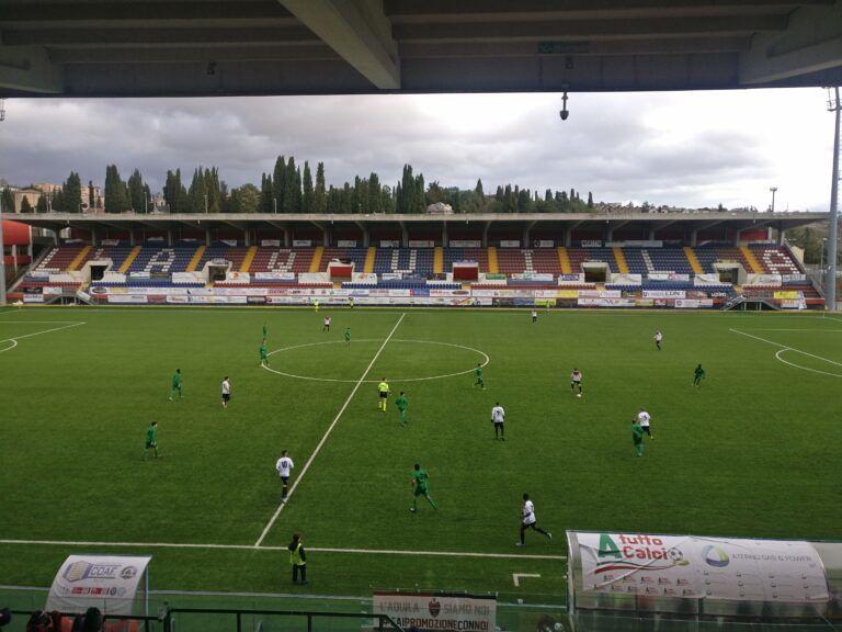 Promozione, L'Aquila inarrestabile: Mutignano superato 5-2 VIDEO