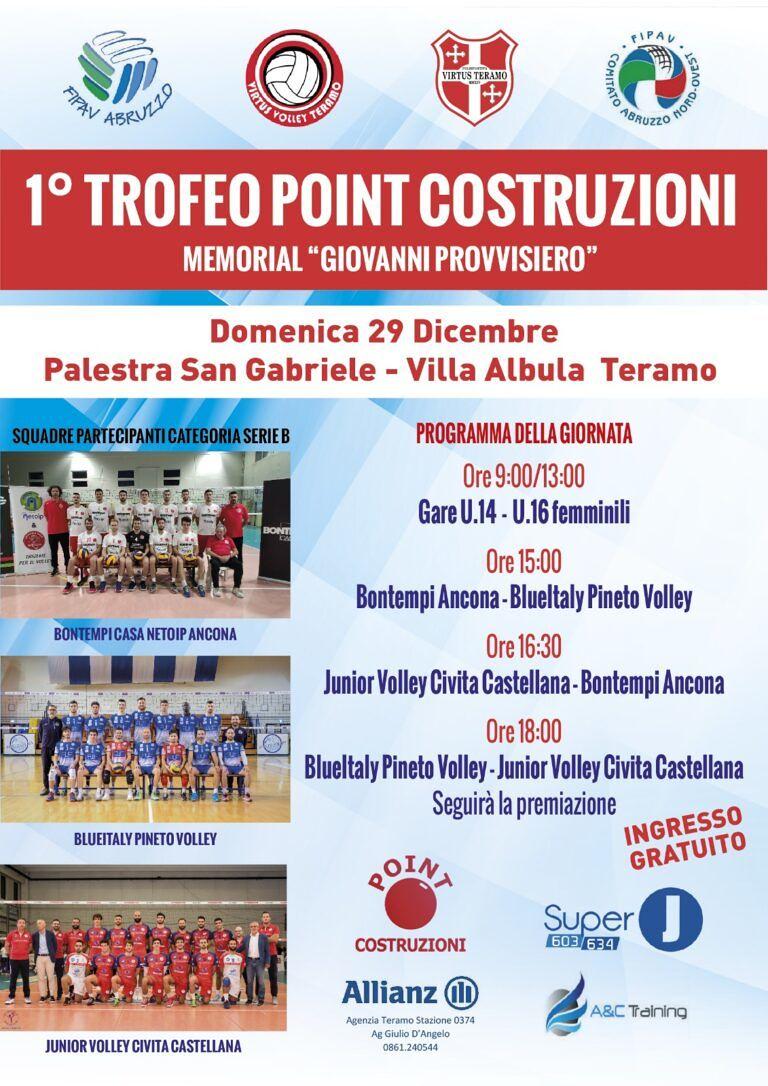 Volley, Blueitaly Pineto: richiamo fisico e allenamento tecnico per iniziare il nuovo anno