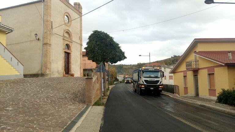 Penna Sant'Andrea: asfalto ripristinato grazie all'Anas