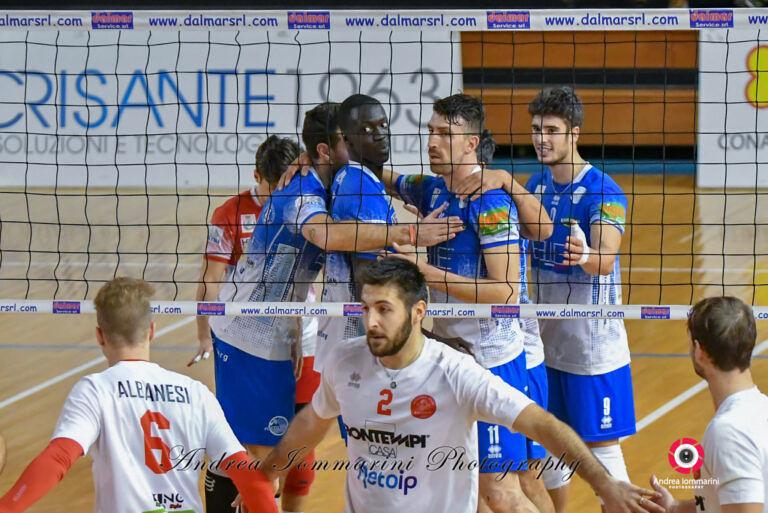 Volley, Blueitaly pineto batte Ancona