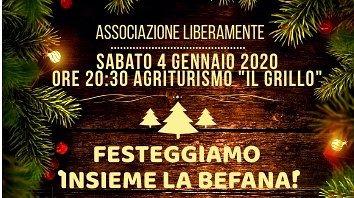 Corropoli, festa della Befana organizzata dall'associazione LiberaMente