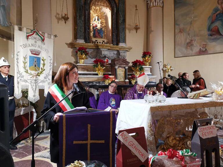 Torano Nuovo, attacchi politici in chiesa: Fratelli d'Italia critica il sindaco