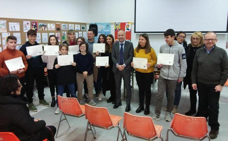 Spoltore, 11 borse di studio per gli alunni della 'Dante Alighieri'