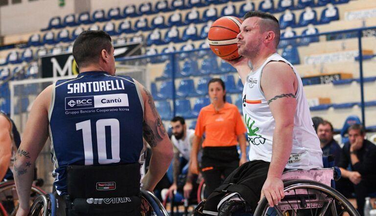 Basket in carrozzina, Amicacci sconfitta nel big match di Cantù