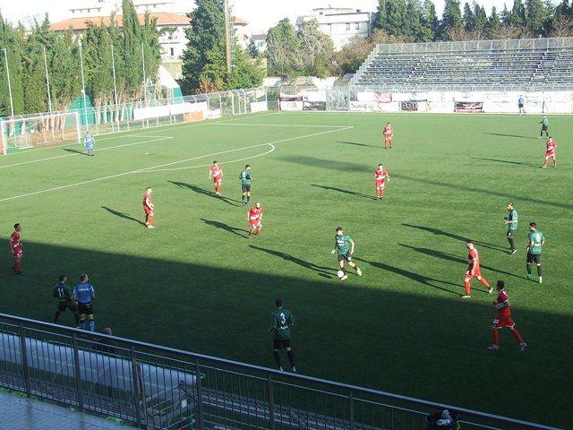 Chieti – Vastese 0-2, i biancorossi si aggiudicano il derby nella ripresa