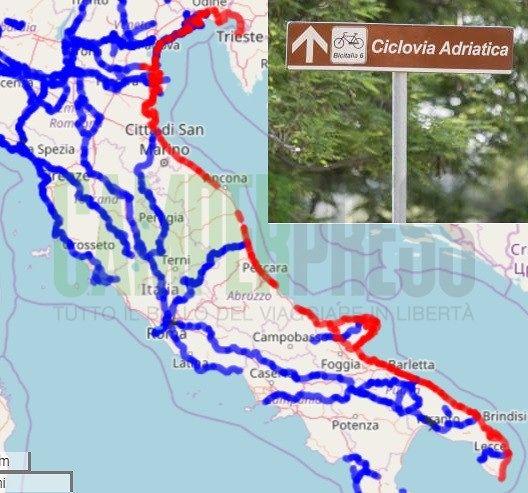 Ciclovia Adriatica: pubblicato il bando europeo