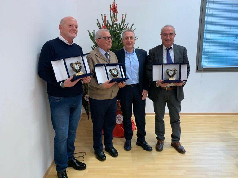 Crognaleto, premio di qualità a tre dirigenti generali