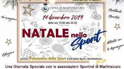 Natale nello Sport: al palazzetto la festa delle società di Martinsicuro e Villa Rosa