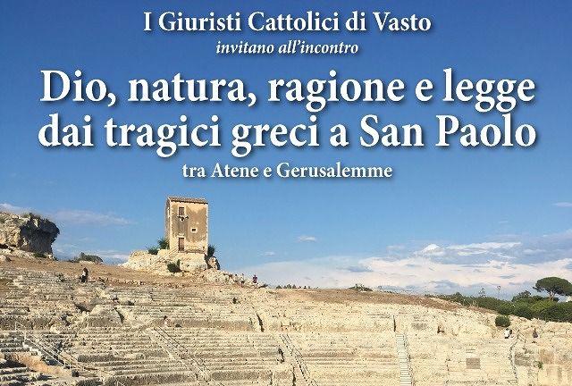 Vasto, incontro Unione Giuristi Cattolici alla Parrocchia San Paolo Apostolo
