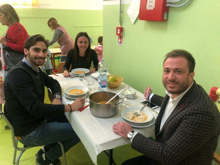 Giulianova, visita a sorpresa degli amministratori al nido 'Arcobaleno' e alla Scuola dell'Infanzia di via Mattarella FOTO