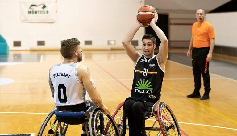 Basket, l'Amicacci sconfitta di misura a Bergamo