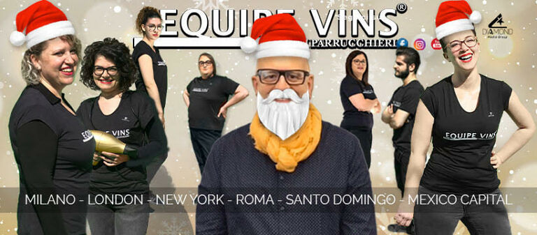 EQUIPE VINS il TOP HAIRSTYLIST italiano a SANT'ONOFRIO
