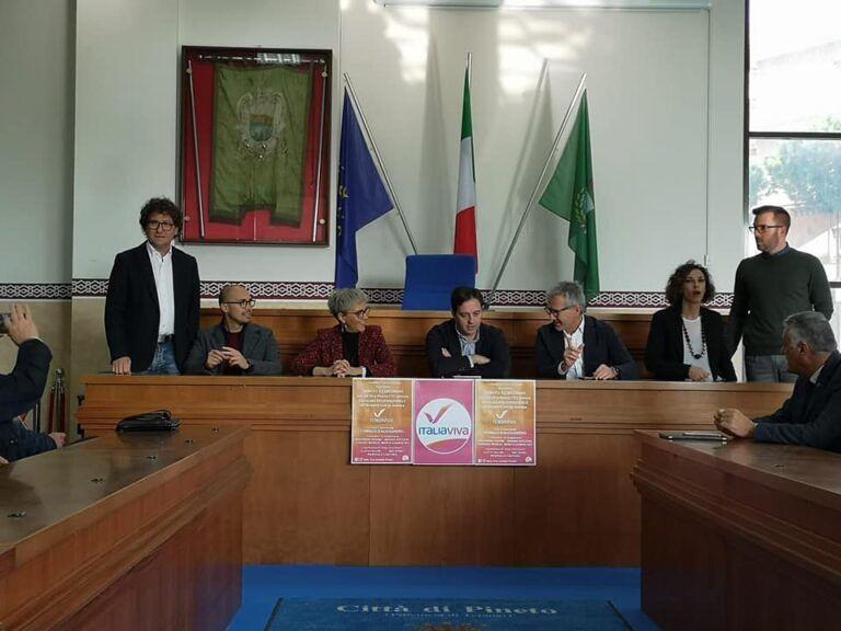 Presentato il gruppo consiliare Italia Viva Pineto: assicurato l'appoggio al Sindaco