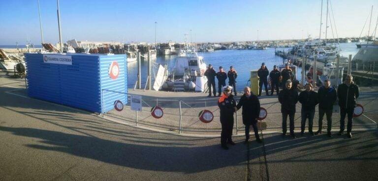 Giulianova, l'Ente Porto mette a disposizione due box operativi alla Guardia Costiera FOTO