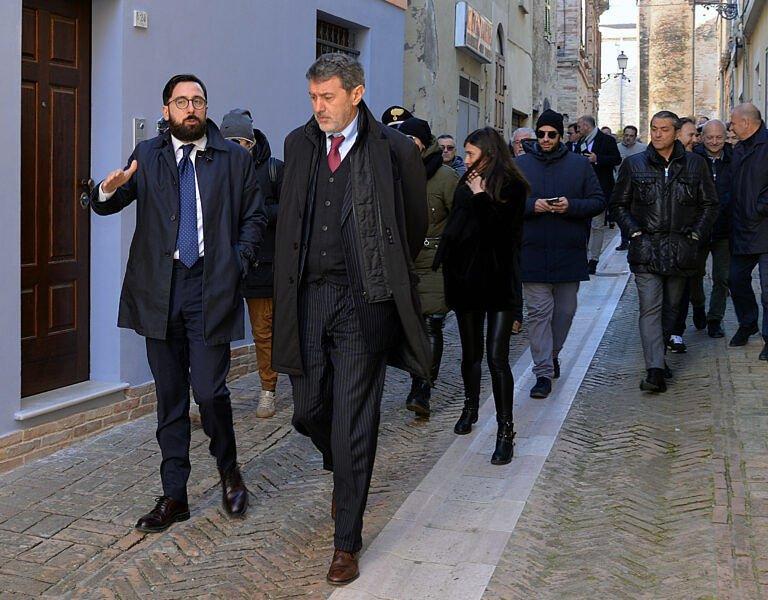 Abruzzo, accelerazione nell'impiego dei fondi europei. Iniziato il viaggio nei cantieri FOTO VIDEO