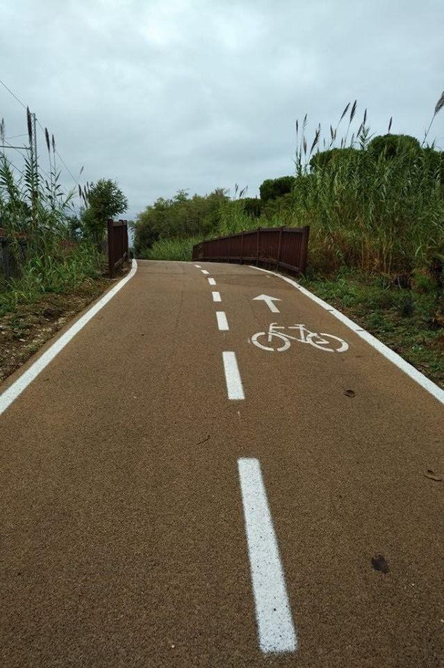 Pineto: iniziano i lavori per il completamento della pista ciclabile fino alla Torre
