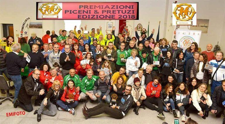 Podismo, ad Ancarano le premiazioni del Criterium Piceni&Pretuzi