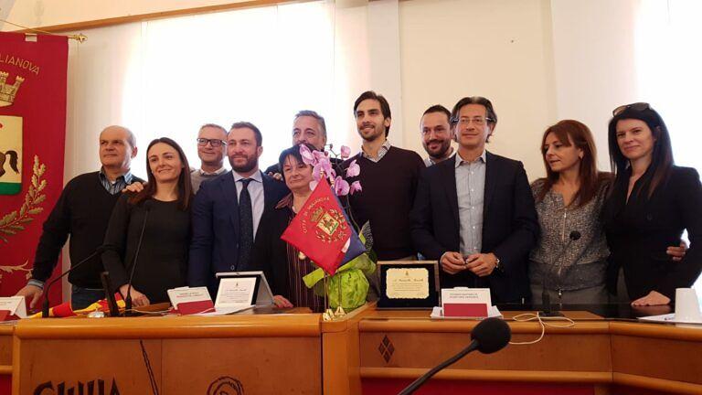 Giulianova, l'Amministrazione Comunale saluta la dipendente Maristella Rastelli: in pensione dopo 41 anni