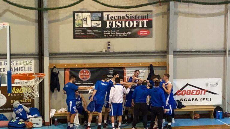 Basket, Pescara sbanca Torre de' Passeri