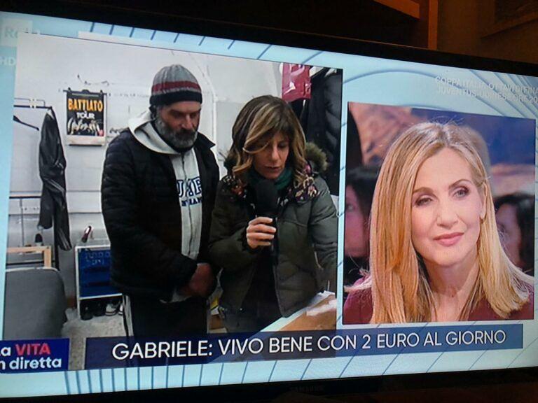"Teramo, la storia di Gabriele finisce a ""La vita in diretta"""