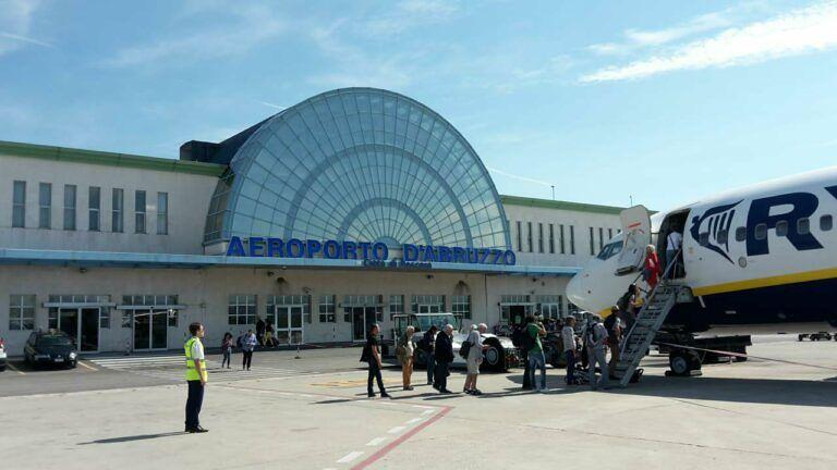 Aeroporto d'Abruzzo: riparte il volo Pescara-Milano