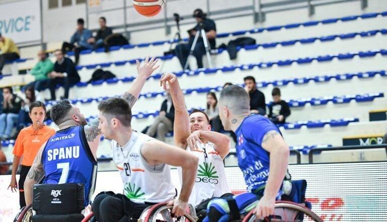 Basket in carrozzina, l'Amicacci regola Sassari e agguanta la Final Four