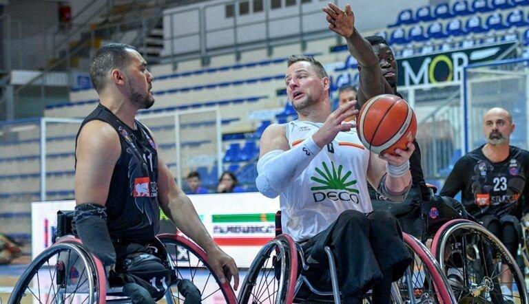 Basket in carrozzina, l'Amicacci stende Padova 75-61