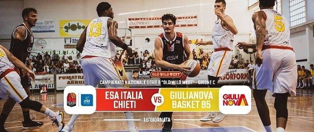 Esa Italia Chieti, un derby per riconfermarsi: arriva Giulianova