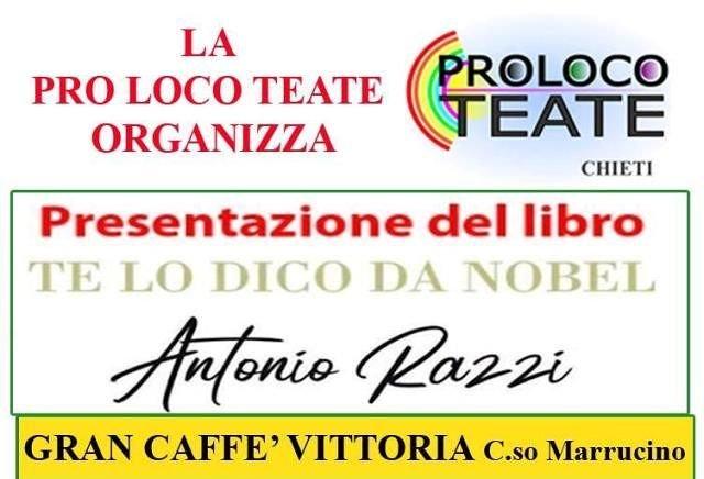 A Chieti la presentazione del libro di Antonio Razzi 'Te lo dico da Nobel'