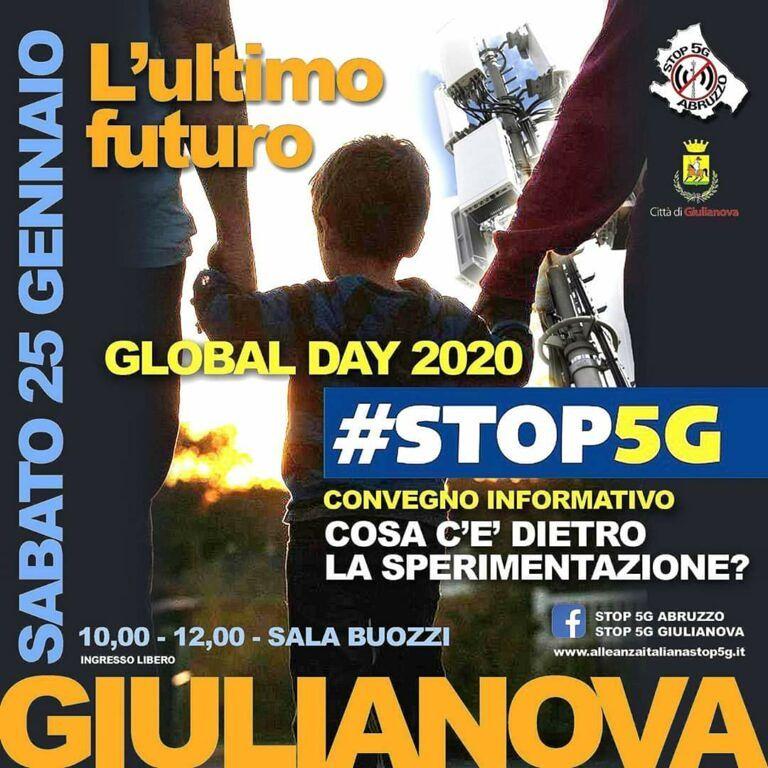 Giulianova, STOP 5G: incontro in Sala Buozzi