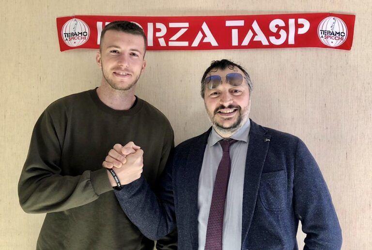 Basket, colpo di mercato della Teramo a Spicchi: ingaggiato l'esterno Radomir Pekic