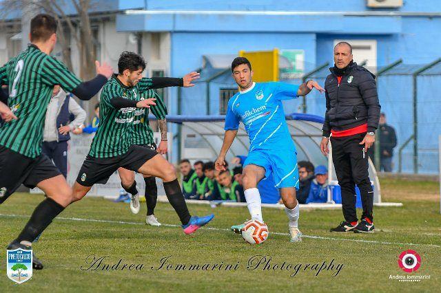 Il Pineto si aggiudica il derby con il Chieti: 1-0, decide Tomassini