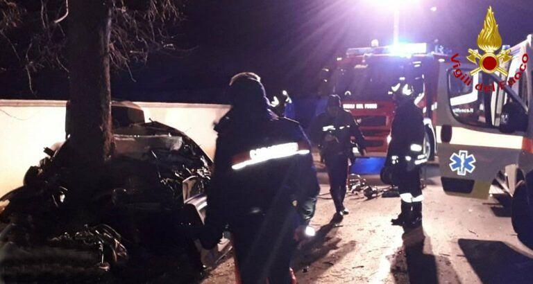 Moscufo, tragico schianto: morte 4 persone
