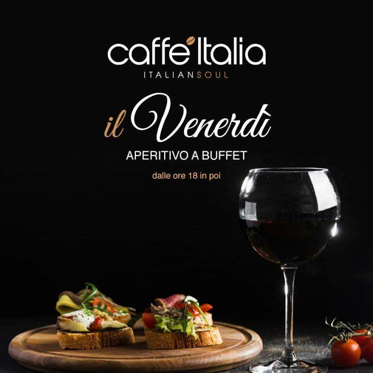 CAFFE' ITALIAitalian soul Tortoreto, tutti i venerdì aperitivo a buffet dalle 19 in poi a soli 8 euro con DJ SET