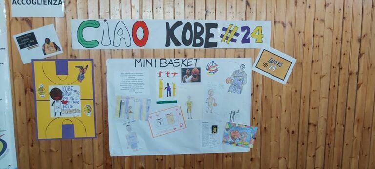 Mosciano, i ragazzi del minibasket ricordano Kobe Bryant
