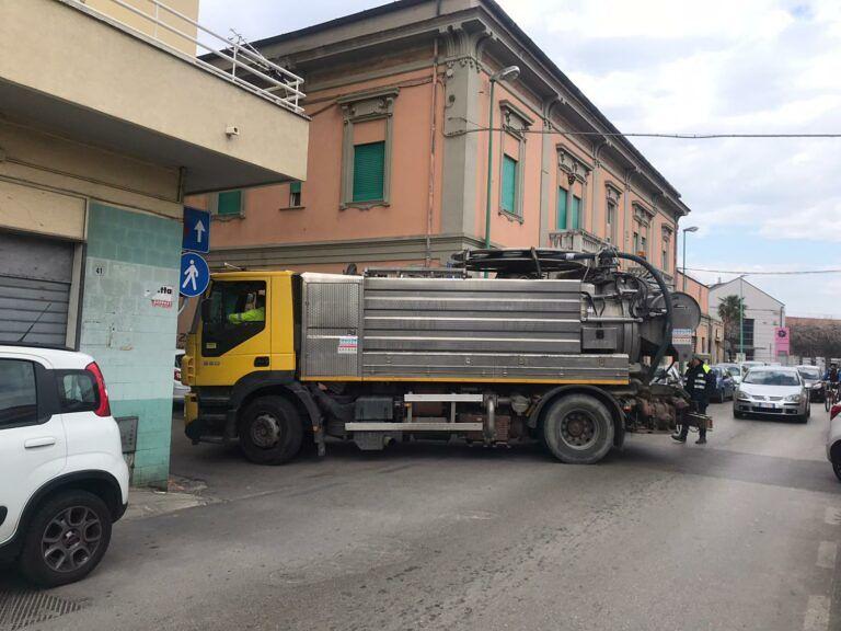 Pescara, una nuova condotta contro gli allagamenti in via Gran Sasso