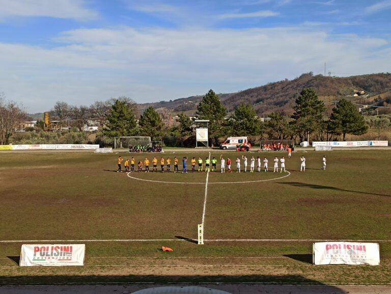 Promozione, la Sant viene raggiunta nel finale dal Montorio e finisce 1-1
