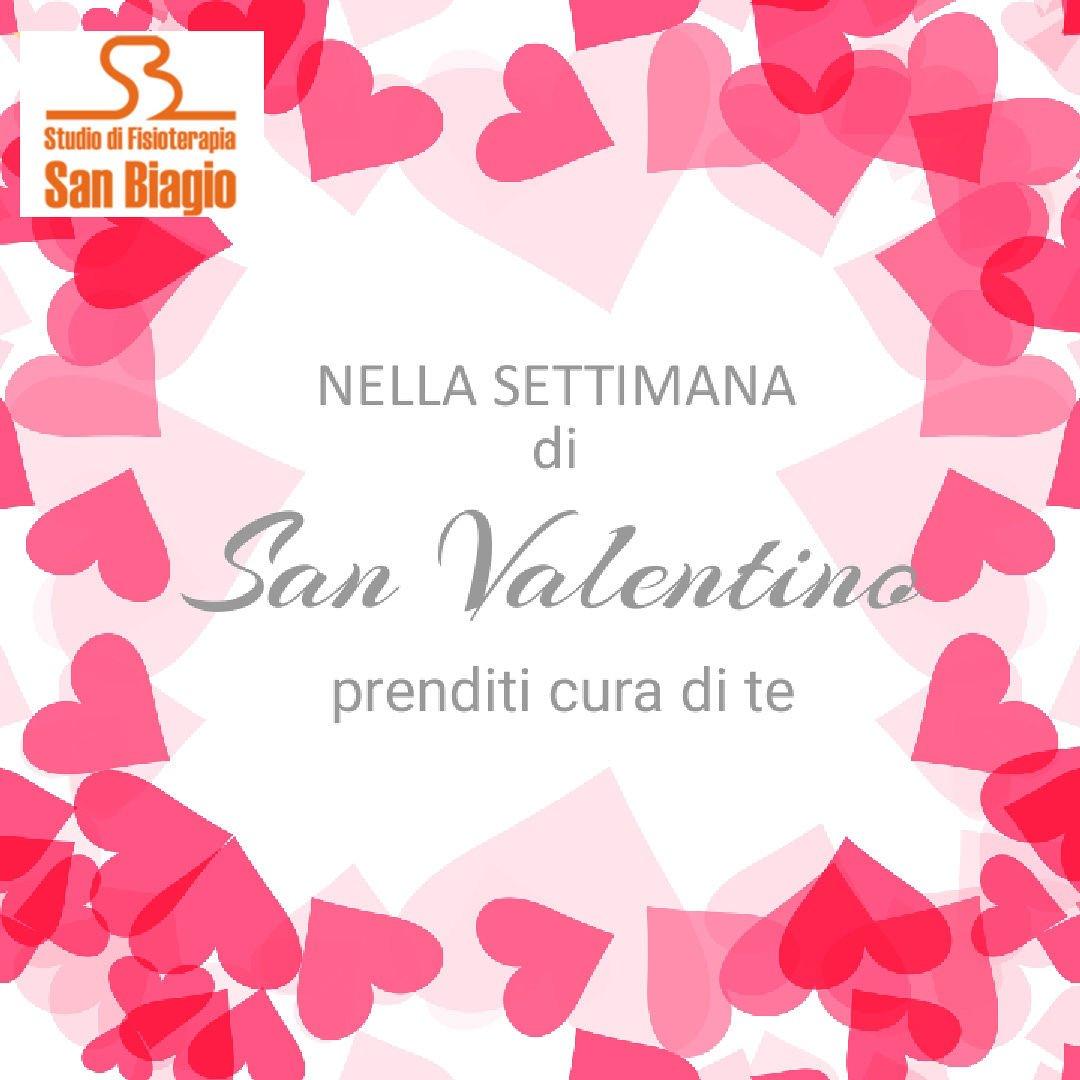 Nella settimana di San Valentino prenditi cura di te con lo studio di fisioterapia SAN BIAGIO