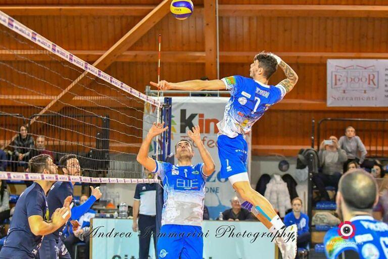 Volley, Blueitaly Pineto chiamata alla dura prova contro Osimo