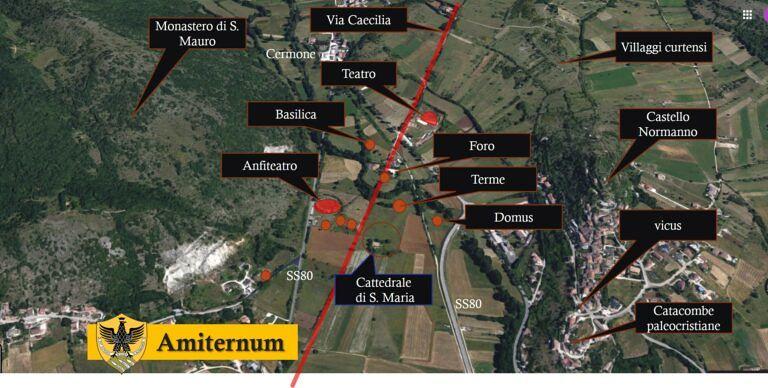 L'Aquila, Università acquista terreni della zona archeologica Amiternum