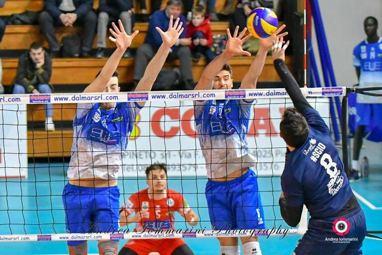 Volley, Blueitaly Pineto trionfa su Turi (3-1)