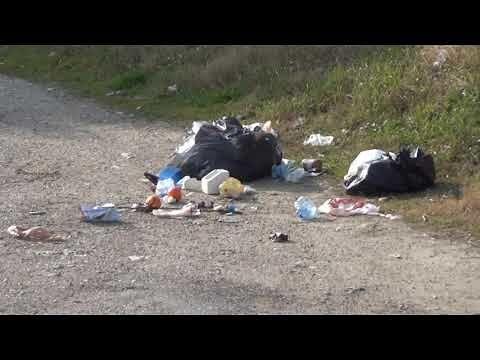 Roseto, la discarica di via Fonte dell'Olmo FOTO/NOSTRO SERVIZIO