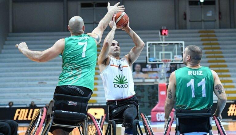 Basket in carrozzina, Amicacci sconfitta dalla capolista Santo Stefano